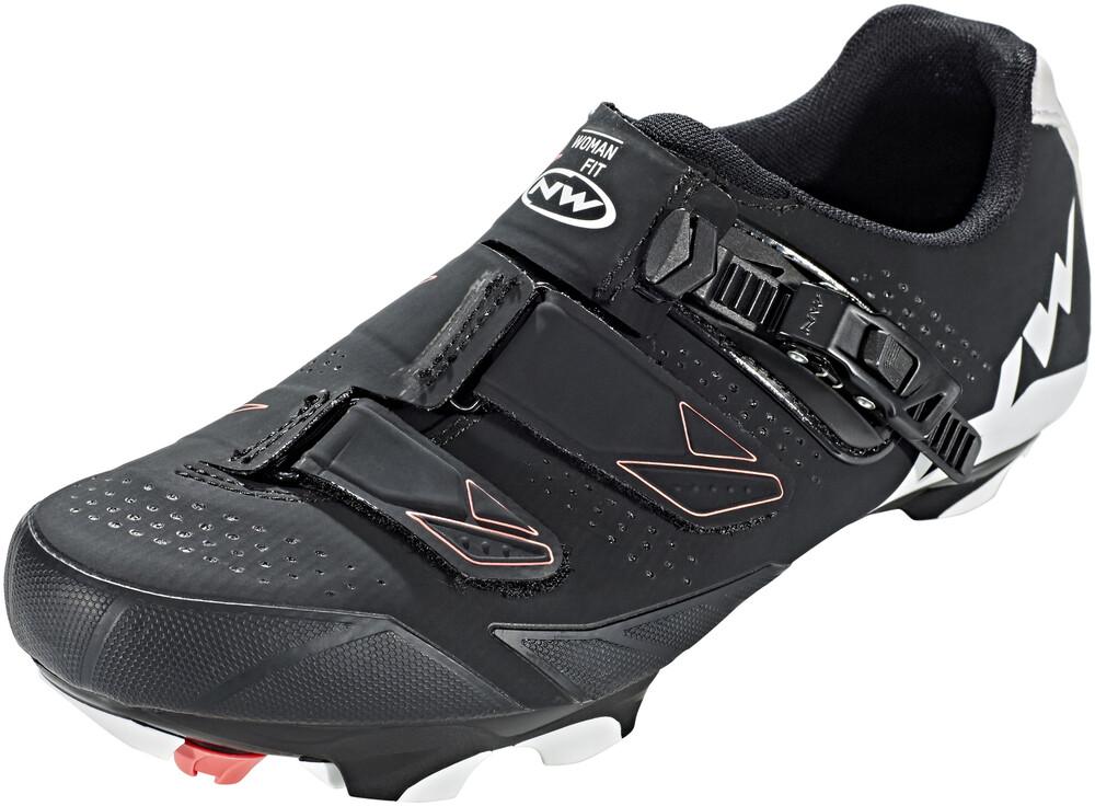 Chaussures Noires Northwave Avec Velcro Pour Les Femmes HI12Fy6M